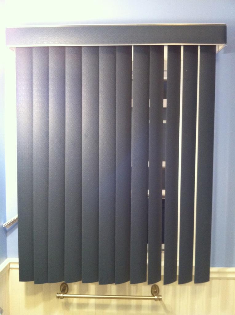 bathroom vertical blind